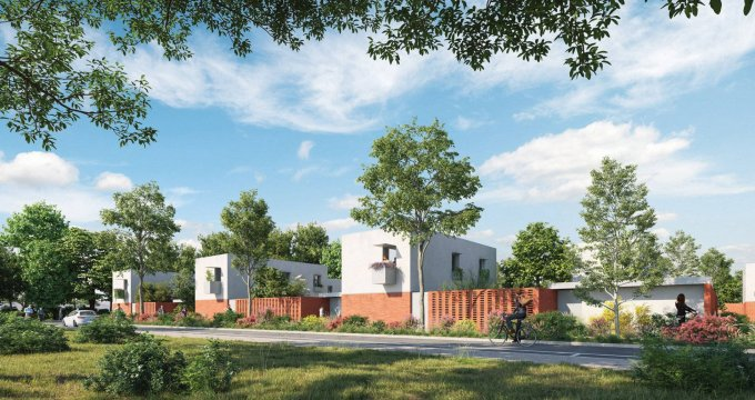 Achat / Vente programme immobilier neuf Beauzelle au sein de l'écoquartier Andromède (31700) - Réf. 6310