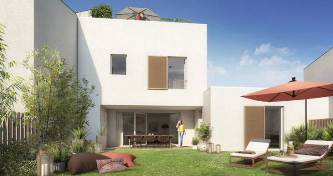 Achat / Vente programme immobilier neuf Beauzelle écoquartier Andromède (31700) - Réf. 3674