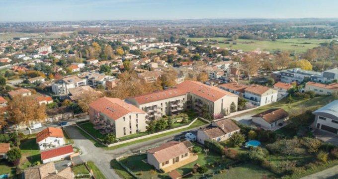 Achat / Vente programme immobilier neuf Castanet-Tolosan cœur quartier Plaine-Haute-Coteaux (31320) - Réf. 3544