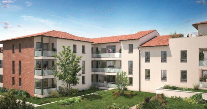Achat / Vente programme immobilier neuf Castanet-Tolosan - La Ritournelle proche mairie (31320) - Réf. 3822