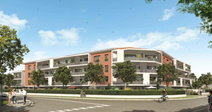 Achat / Vente programme immobilier neuf Castanet-Tolosan proche Parc des Fontannelles (31320) - Réf. 5209