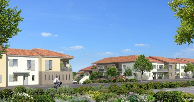 Achat / Vente programme immobilier neuf Castelmaurou en coeur de ville (31180) - Réf. 5148