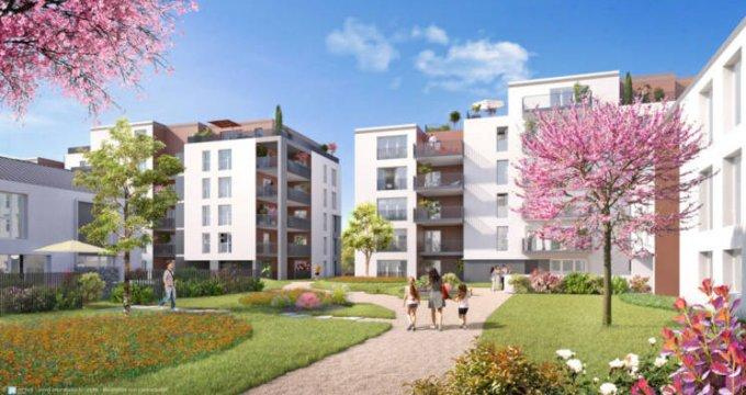 Achat / Vente programme immobilier neuf Colomiers quartier des Fenassiers (31770) - Réf. 3255