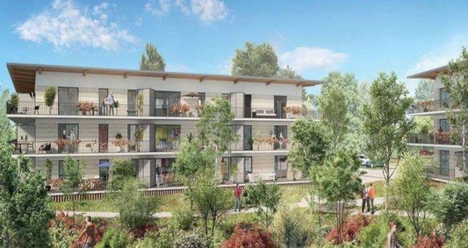Achat / Vente programme immobilier neuf Cornebarrieu quartier de la ZAC Monges-Croix du Sud (31700) - Réf. 3169