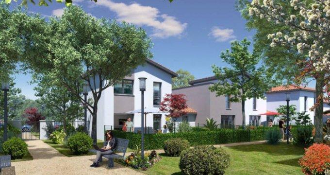 Achat / Vente programme immobilier neuf Cugnaux au cœur du quartier résidentiel Michel (31270) - Réf. 4151