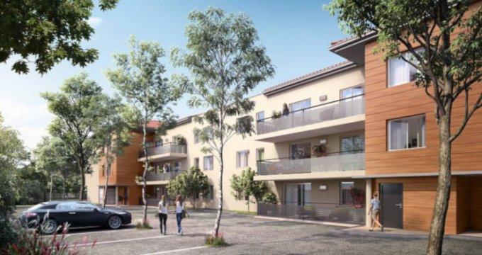 Achat / Vente programme immobilier neuf Cugnaux proche centre-ville (31270) - Réf. 3543