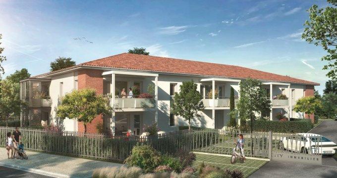 Achat / Vente programme immobilier neuf Eaunes à proximité du cœur de ville (31600) - Réf. 5775