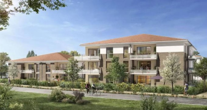 Achat / Vente programme immobilier neuf Lespinasse secteur calme proche commodités (31150) - Réf. 4686