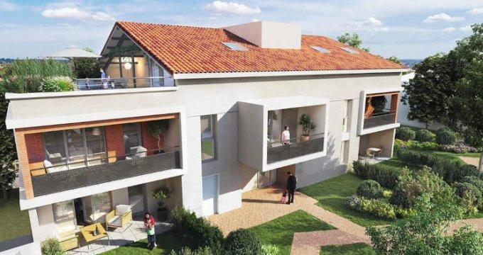 Achat / Vente programme immobilier neuf L'Union proche centre commercial (31240) - Réf. 5619