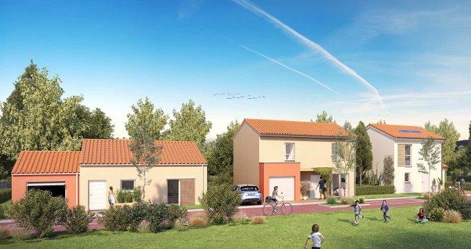 Achat / Vente programme immobilier neuf Mondonville cœur de ville (31700) - Réf. 3137