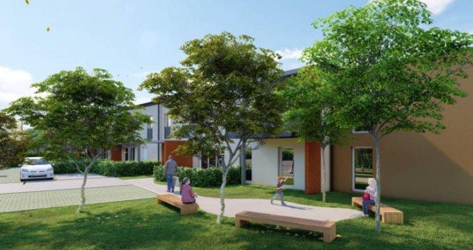 Achat / Vente programme immobilier neuf Mondonville proche des bassins d'emploi (31700) - Réf. 5923