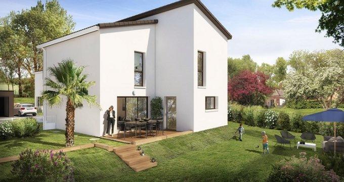 Achat / Vente programme immobilier neuf Montrabé 700 m centre-ville (31850) - Réf. 4125
