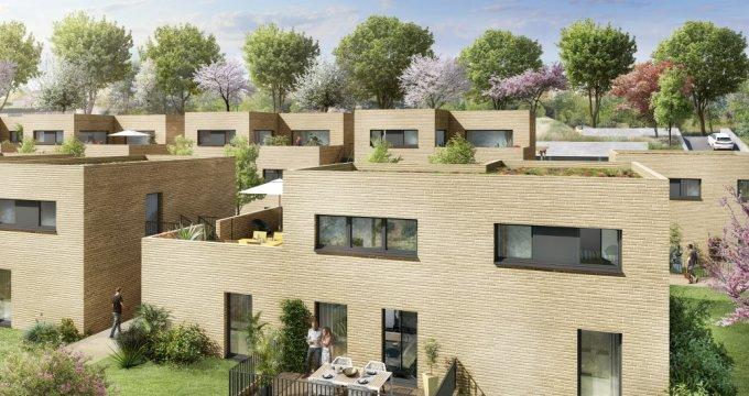 Achat / Vente programme immobilier neuf Montrabé au Nord de Toulouse (31850) - Réf. 3665