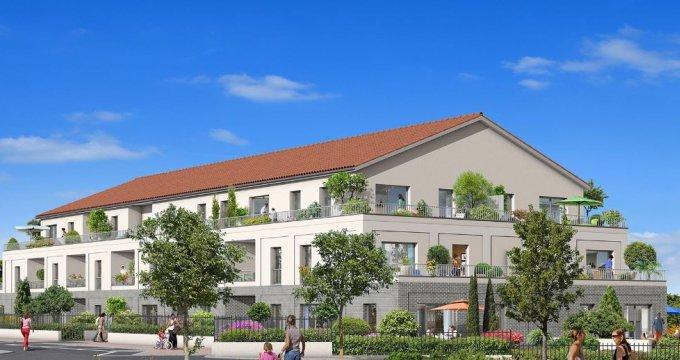 Achat / Vente programme immobilier neuf Quint-Fonsegrives proche centre-ville (31130) - Réf. 5259
