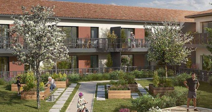 Achat / Vente programme immobilier neuf Saint-Alban centre (31140) - Réf. 5430
