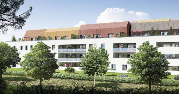 Achat / Vente programme immobilier neuf Saint-Orens-de-Gameville à 700 m de la mairie (31650) - Réf. 3144