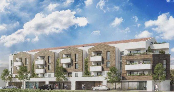 Achat / Vente programme immobilier neuf Tournefeuille à deux pas de La Ramée (31170) - Réf. 5864