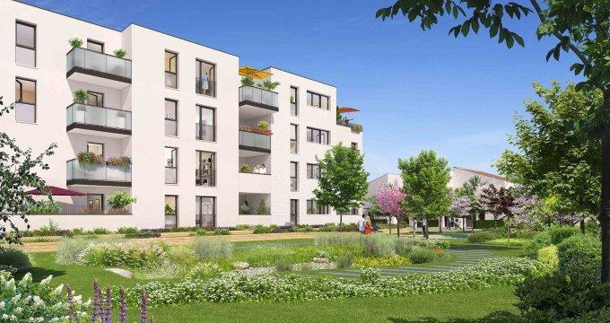 Achat / Vente programme immobilier neuf Villeneuve-Tolosane, proche canal de Saint-Martory (31270) - Réf. 3110