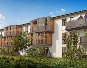 Achat / Vente programme immobilier neuf Aucamville au cœur du centre (31140) - Réf. 3828