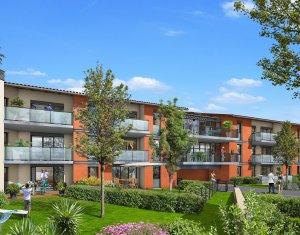 Achat / Vente programme immobilier neuf Castanet-Tolosan en plein cœur de ville (31320) - Réf. 4117