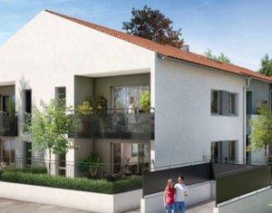 Achat / Vente programme immobilier neuf Fonbeauzard proche école (31140) - Réf. 3290