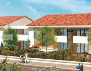 Achat / Vente programme immobilier neuf Launaguet proche commerces (31140) - Réf. 3176
