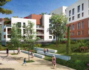 Achat / Vente programme immobilier neuf Toulouse au coeur du quartier Montaudran (31000) - Réf. 4072