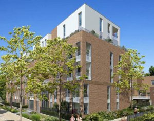 Achat / Vente programme immobilier neuf Toulouse proche RER A et A15 au cœur de l'ecoquartier Guillaumet (31000) - Réf. 4258