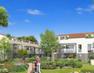 Achat / Vente programme immobilier neuf Tournefeuille, proche golf de la Ramée (31170) - Réf. 3116