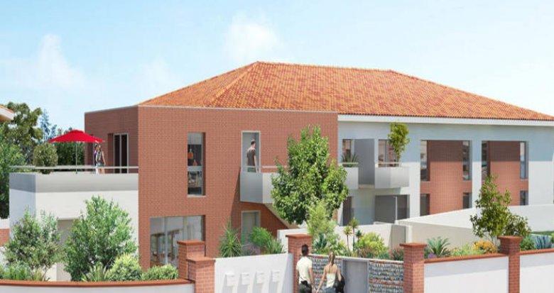 Achat / Vente programme immobilier neuf Aucamville proche centre (31140) - Réf. 3175