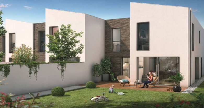 Achat / Vente programme immobilier neuf Beauzelle quartier Andromède (31700) - Réf. 3708