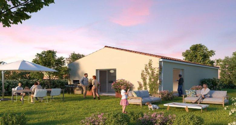 Achat / Vente programme immobilier neuf Bessières aux portes de Toulouse (31660) - Réf. 5496
