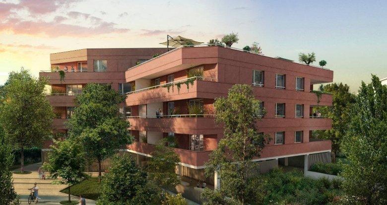 Achat / Vente programme immobilier neuf Blagnac à 3 min à pied du T1 Patinoire-Barradels (31700) - Réf. 6257