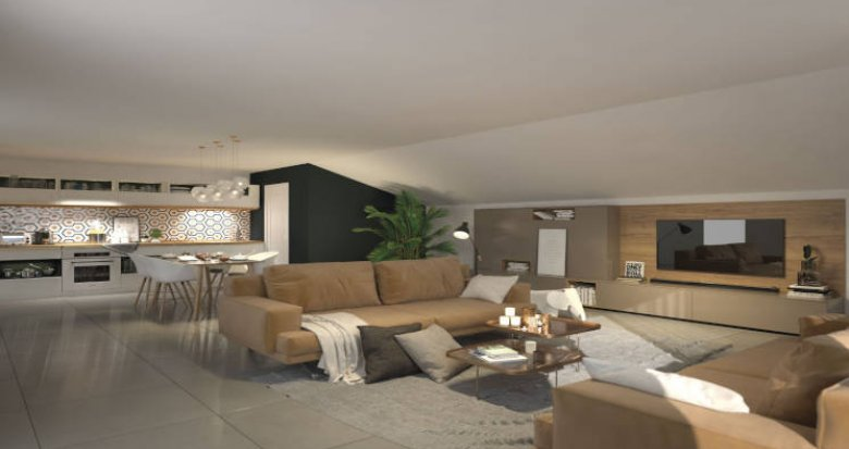 Achat / Vente programme immobilier neuf Blagnac à 500 m du tramway T1 (31700) - Réf. 5979
