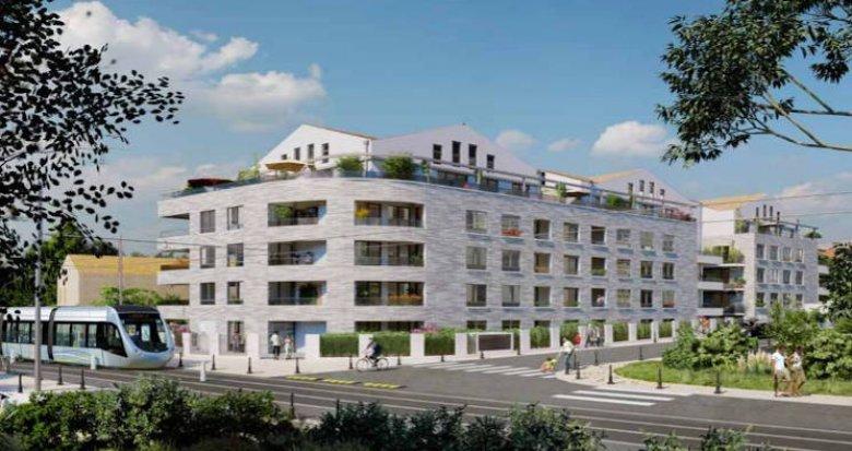 Achat / Vente programme immobilier neuf Blagnac à deux pas du tramway (31700) - Réf. 5146