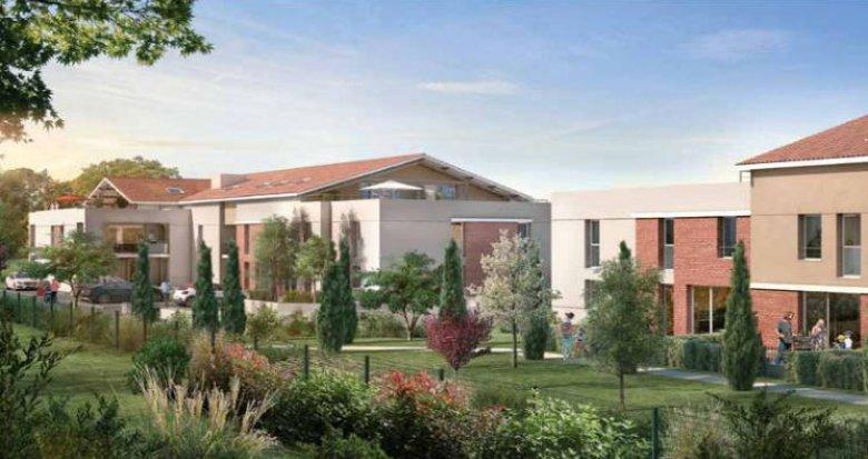 Achat / Vente programme immobilier neuf Castanet-Tolosan à 5 min du cœur de ville (31320) - Réf. 4998