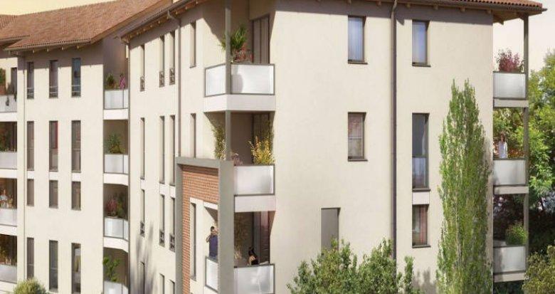 Achat / Vente programme immobilier neuf Castanet-Tolosan à deux pas du coeur de ville (31320) - Réf. 4168