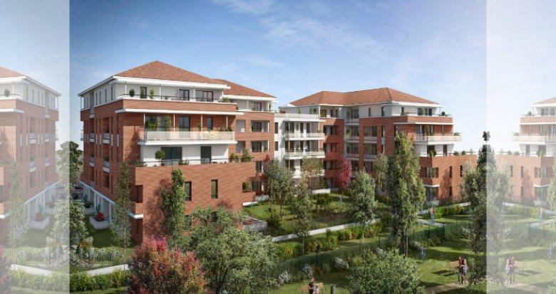 Achat / Vente programme immobilier neuf Castanet-Tolosan face au Parc de la Mairie (31320) - Réf. 5868