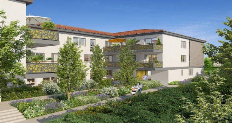 Achat / Vente programme immobilier neuf Castanet-Tolosan proche bassins d'emploi (31320) - Réf. 5662