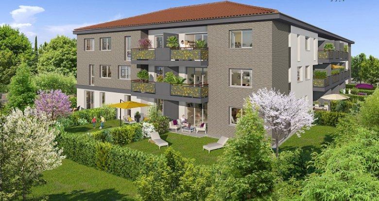 Achat / Vente programme immobilier neuf Castanet-Tolosan proche métro B (31000) - Réf. 4134