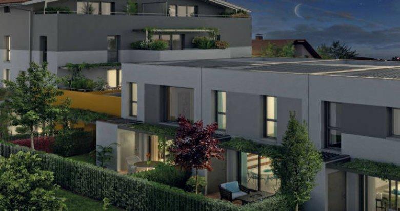 Achat / Vente programme immobilier neuf Castelginest proche centre-commercial (31780) - Réf. 3806
