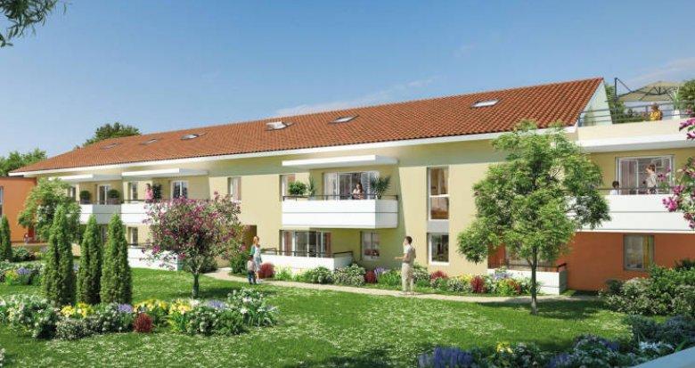 Achat / Vente programme immobilier neuf Castelginest proche coeur de ville (31780) - Réf. 3666