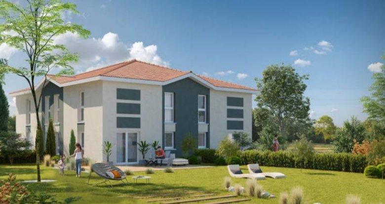 Achat / Vente programme immobilier neuf Castelmaurou proche arrêts de bus (31180) - Réf. 4639