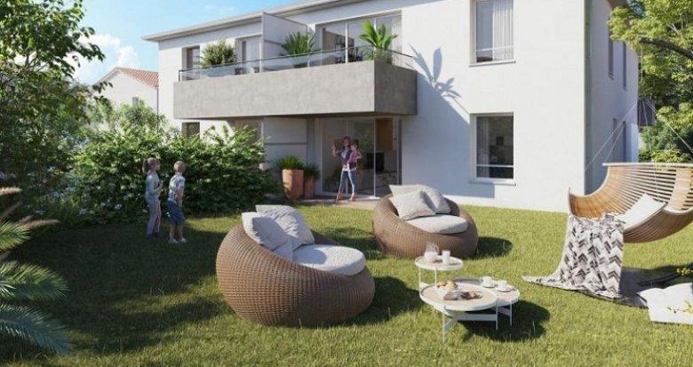 Achat / Vente programme immobilier neuf Colomiers quartier du Garroussal (31770) - Réf. 5649