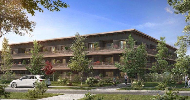 Achat / Vente programme immobilier neuf Cornebarrieu écoquartier de Monges Croix du Sud (31700) - Réf. 5772
