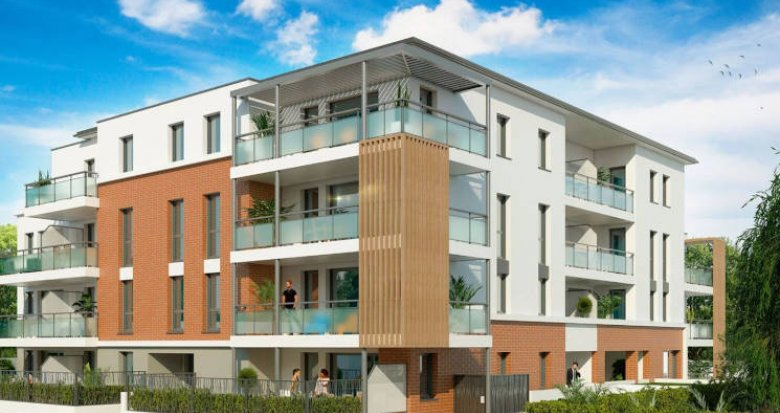 Achat / Vente programme immobilier neuf Cugnaux à 500 mètres du centre-ville (31270) - Réf. 3851