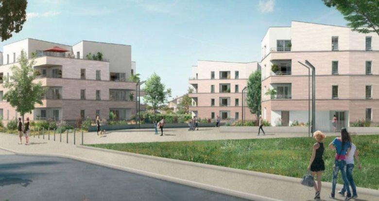 Achat / Vente programme immobilier neuf Cugnaux proche centre (31270) - Réf. 3147