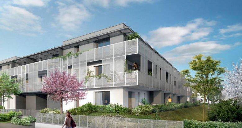 Achat / Vente programme immobilier neuf Cugnaux proche centre animé (31270) - Réf. 3862