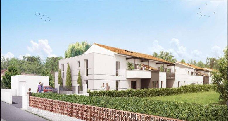 Achat / Vente programme immobilier neuf Cugnaux proche centre-ville (31270) - Réf. 3585