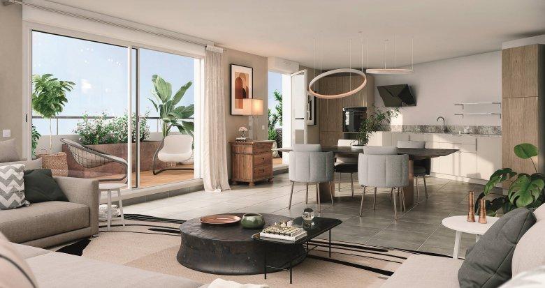 Achat / Vente programme immobilier neuf Cugnaux proche quartier Saint-Simon (31270) - Réf. 6160